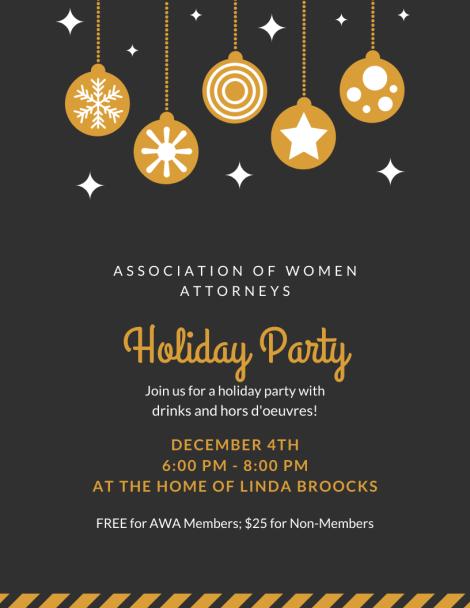 AWA Holiday Party